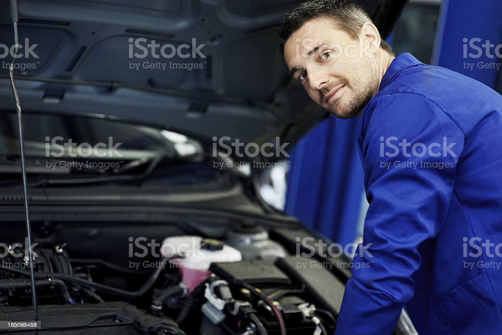 I'll find the problem in no time stock photo