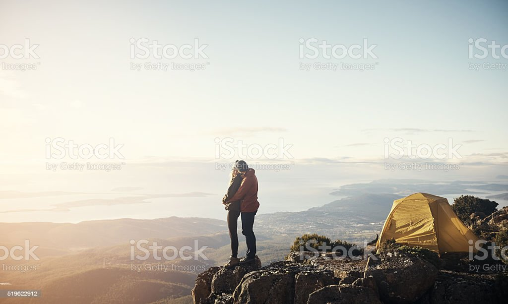 I'll move mountains for you stock photo