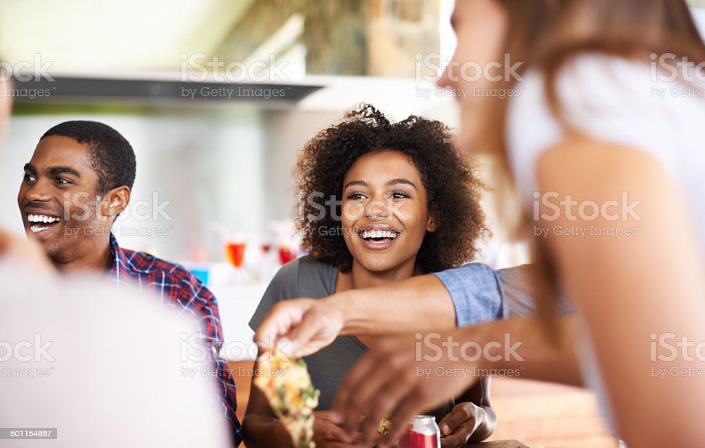 I'll take another slice stock photo