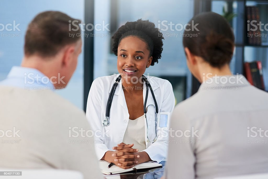 I'll take good care of you stock photo