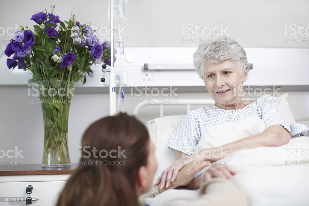 I'll visit you everyday royalty-free stock photo