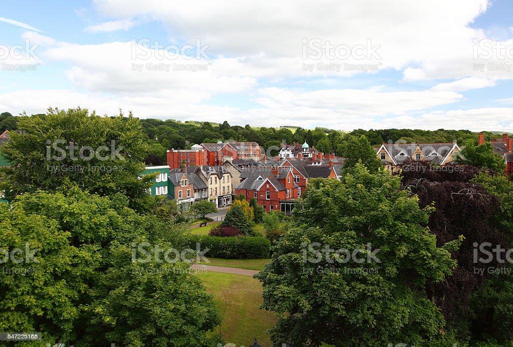 Llandrindod Wells,Wales,UK stock photo