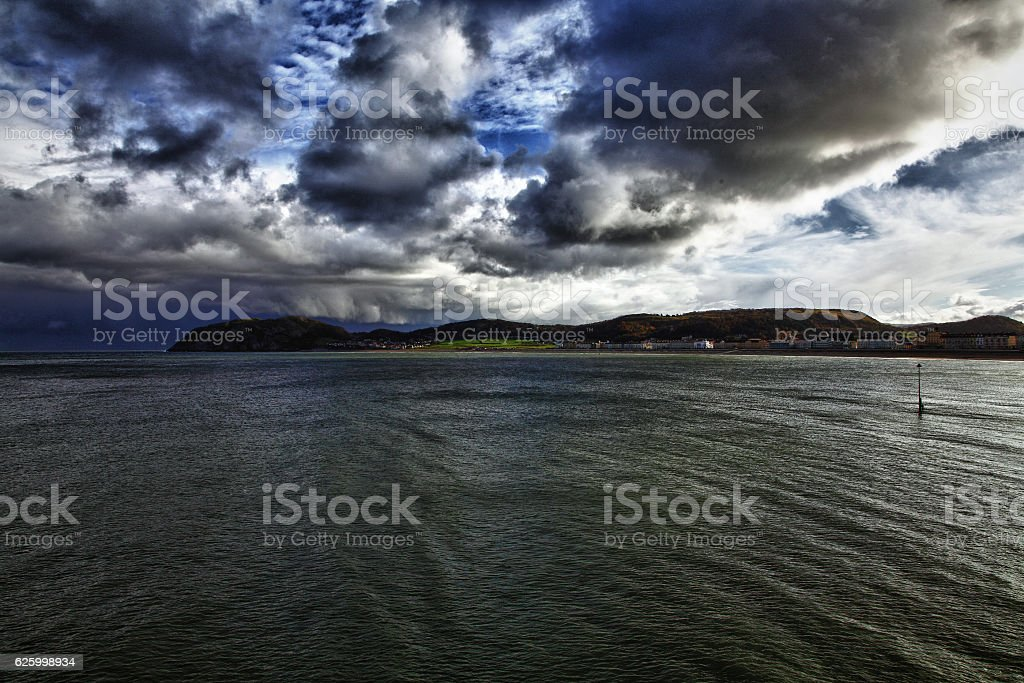Llandudno and Little Orme stock photo