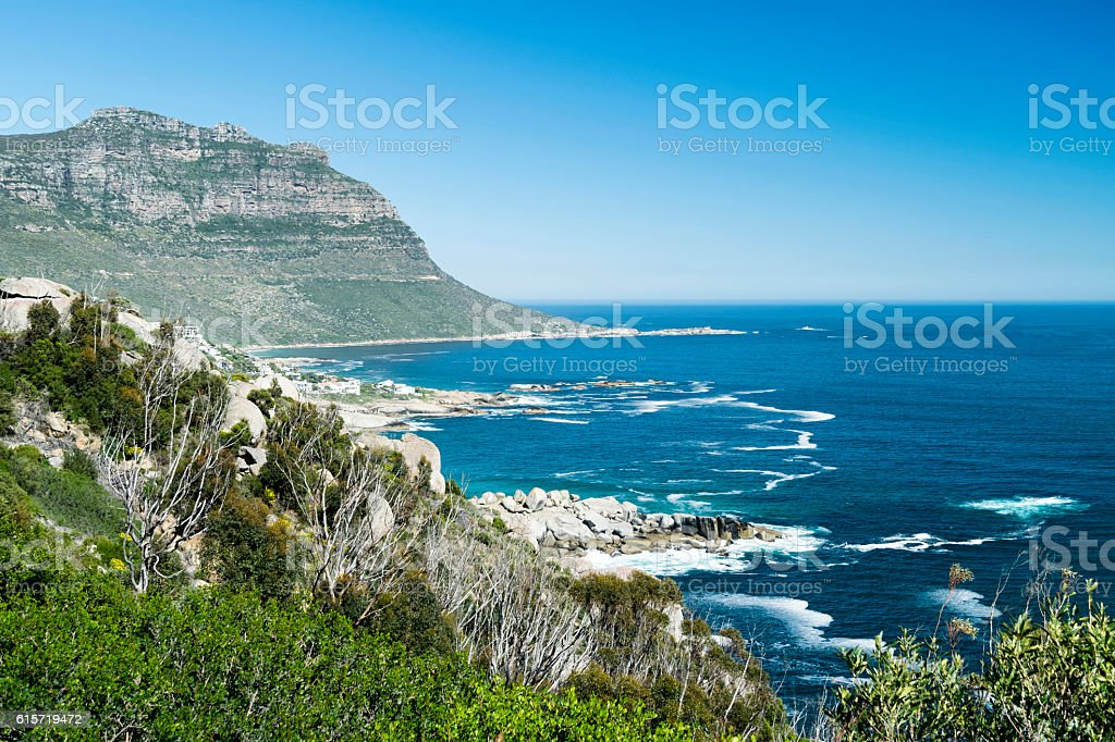 Llandudno coast,South Africa stock photo
