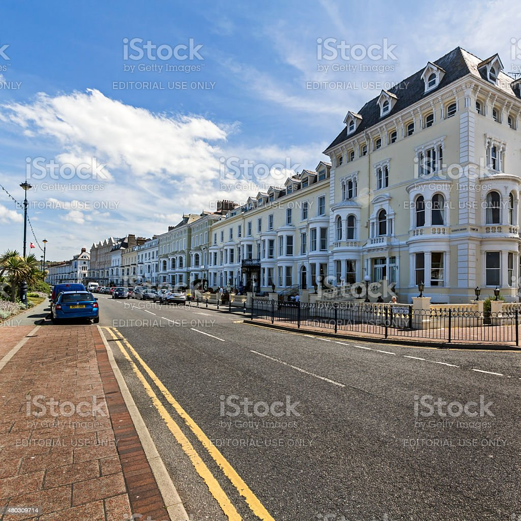 Llandudno Hotels stock photo