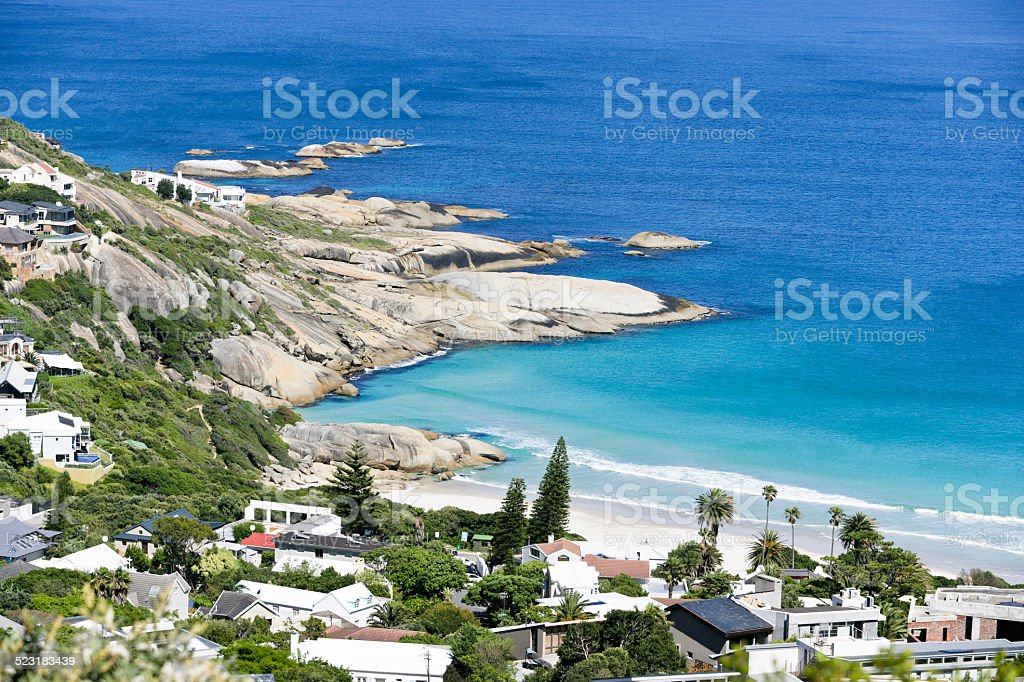 Llandudno near Cape Town stock photo