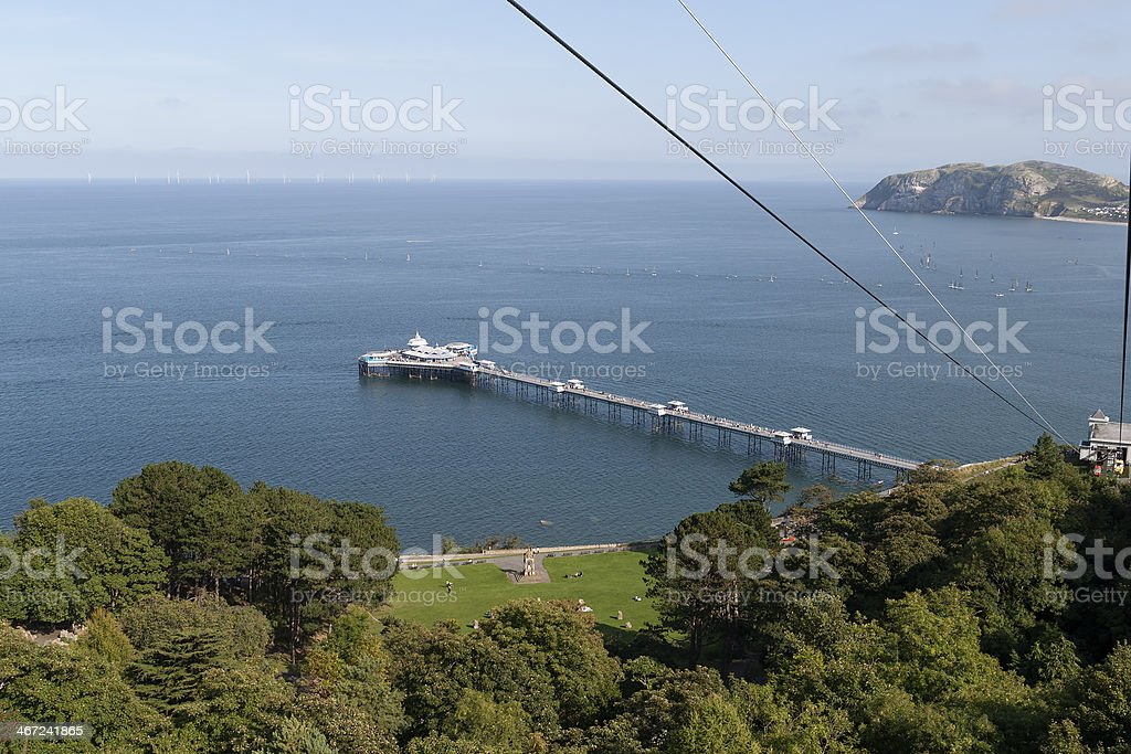 Llandudno North Wales stock photo