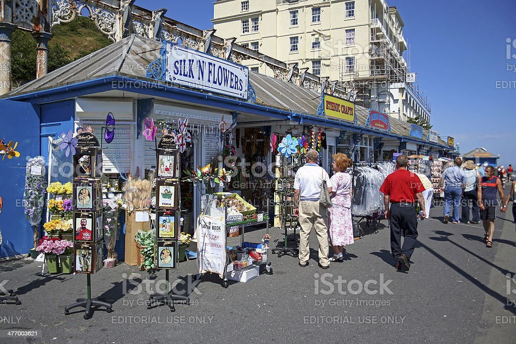 Llandudno Pier, North Wales stock photo