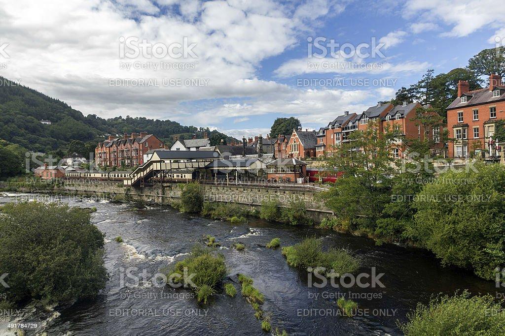 Llangollen North Wales royalty-free stock photo