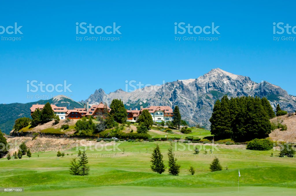 Llao Llao in Bariloche - Argentina stock photo