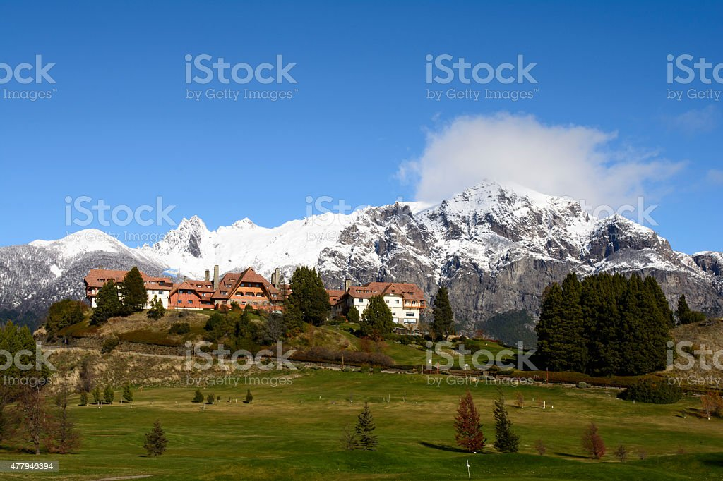 Llao Llao stock photo
