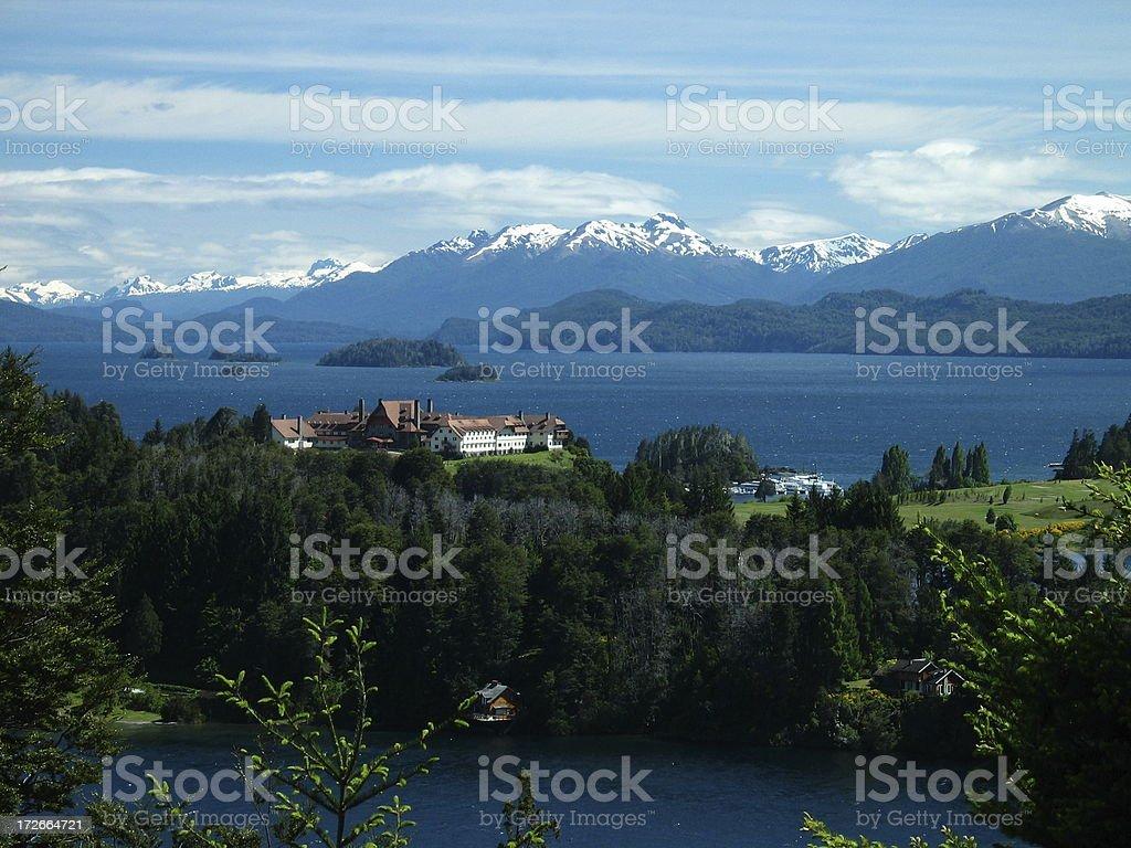 Llao Resort, Bariloche, Argentina stock photo