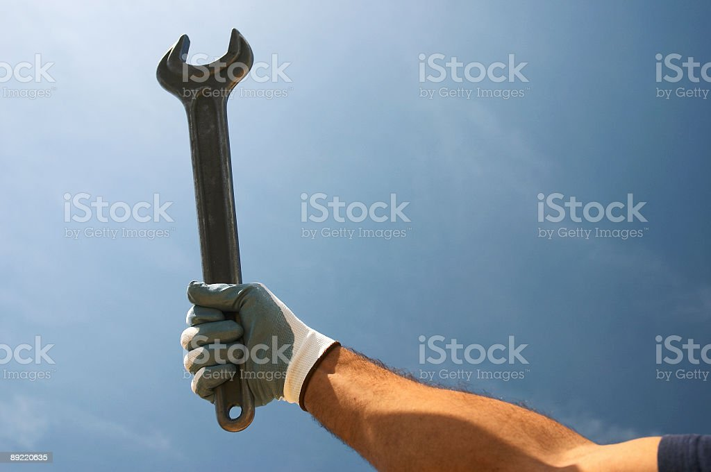 llave_fija_02 stock photo