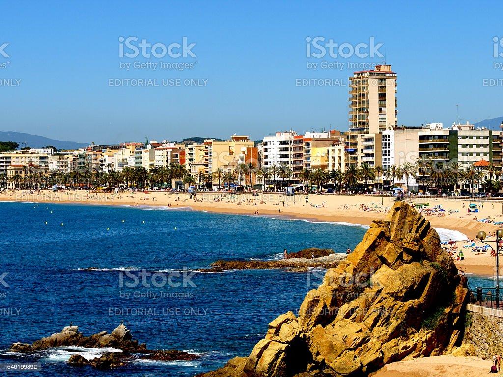Lloret De Mar, Spain. stock photo