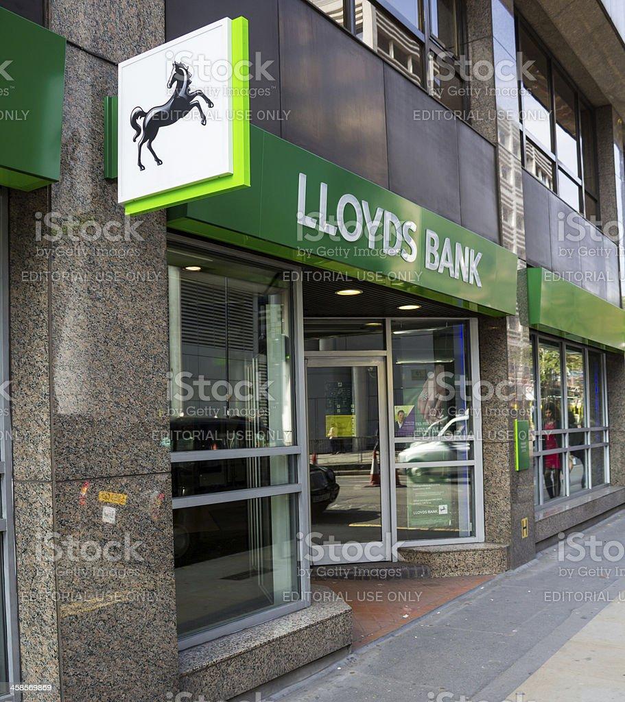 Lloyds Bank new branding stock photo
