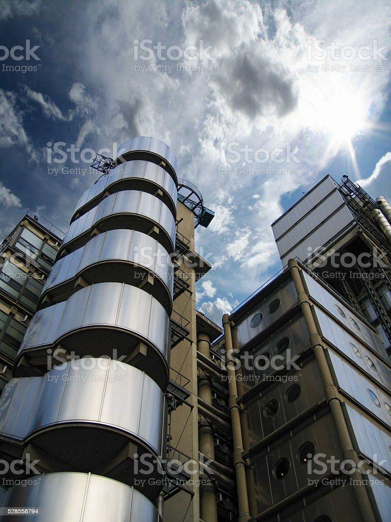 Lloyd's Building Architecture stock photo