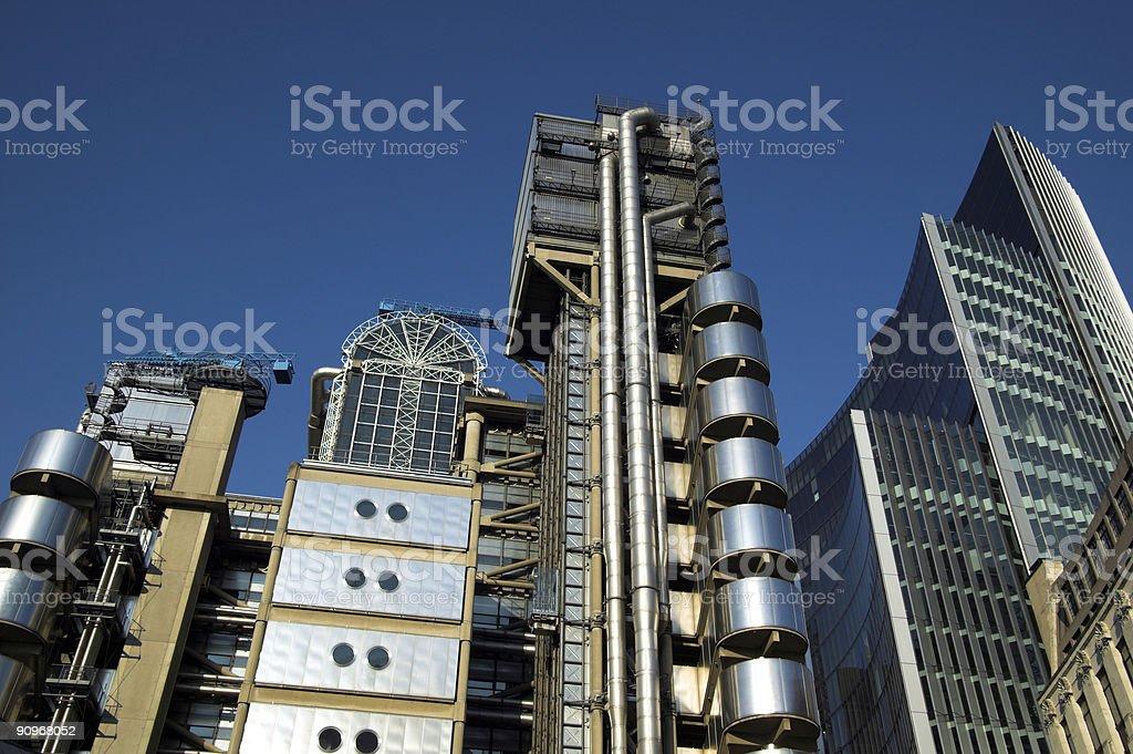 Lloyd's Building Cityscape stock photo