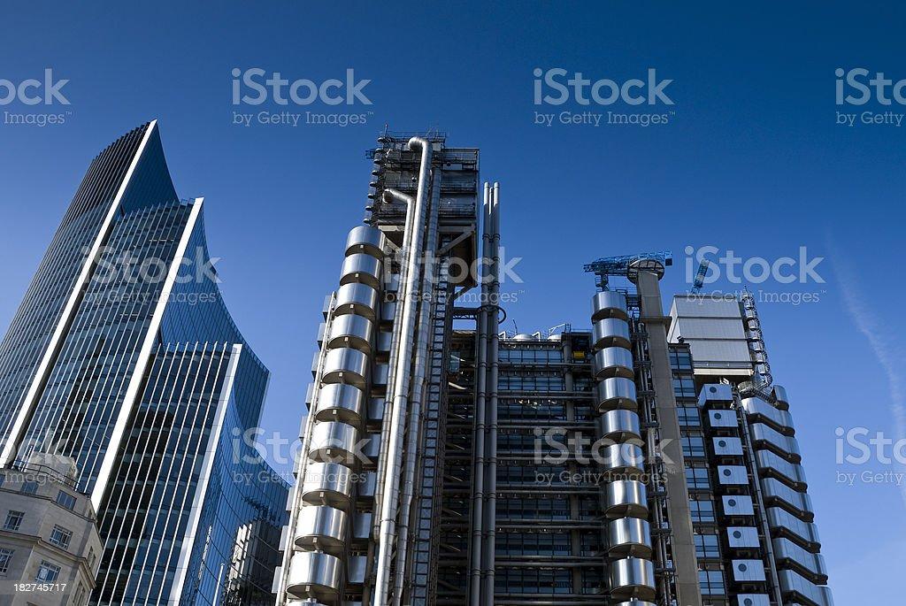 Lloyds building, London stock photo