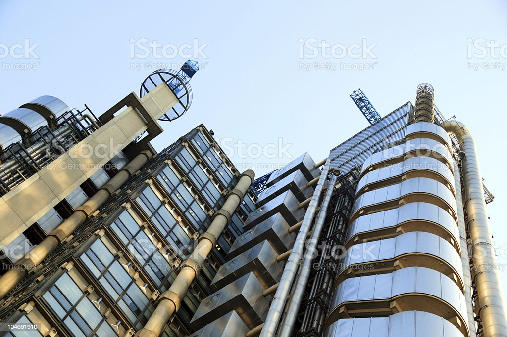 Lloyd's Building royalty-free stock photo
