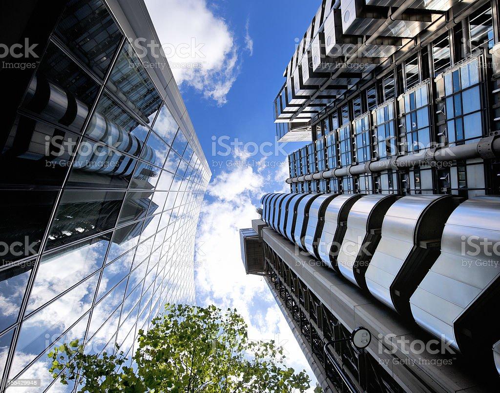 Lloyds of London Bank royalty-free stock photo