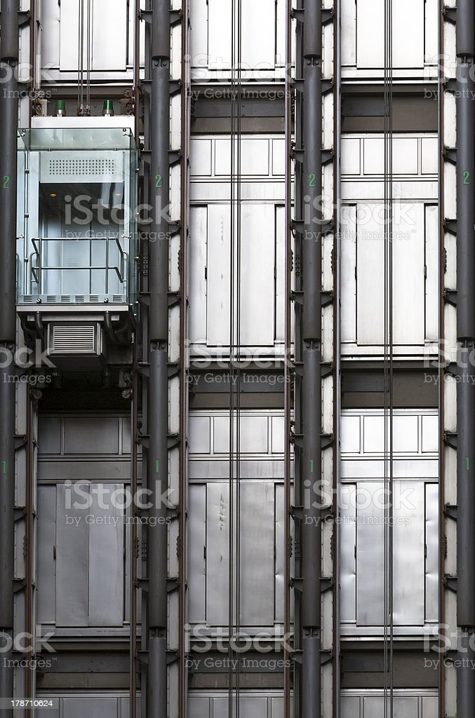 Lloyd's of London exterior detail royalty-free stock photo