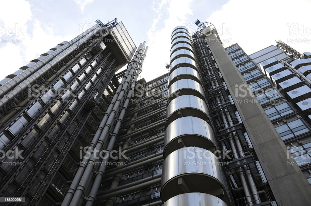 Lloyds of London royalty-free stock photo