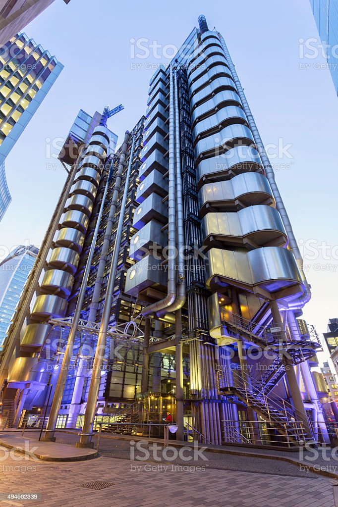 Lloyds of London stock photo