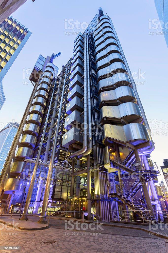 Lloyds of London stock photo