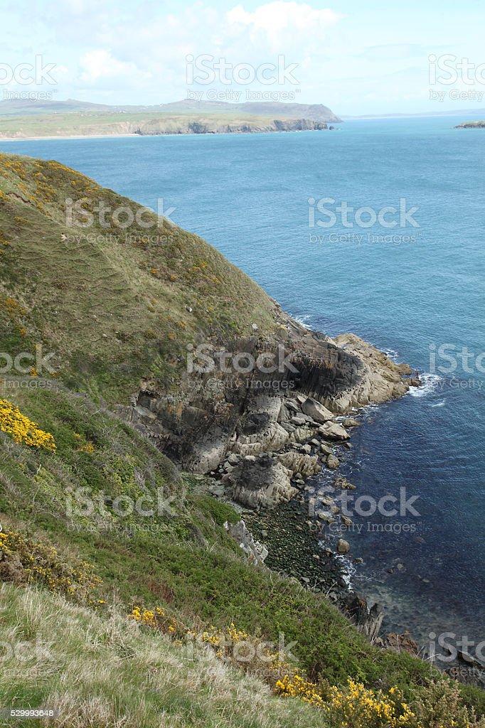 Llyn coast stock photo
