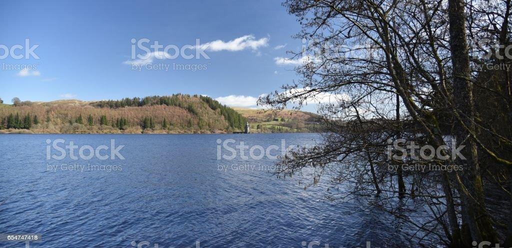 Llyn Efyrnwy - Lake Vyrnwy stock photo