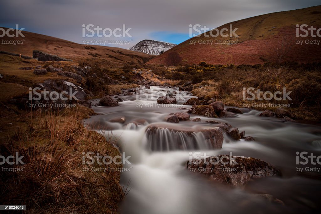 Llyn y Fan Fach stock photo
