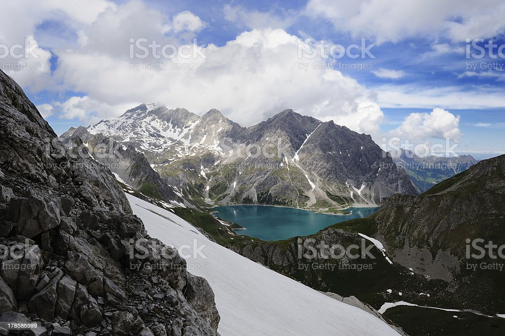 L?nersee, Vorarlberg stock photo