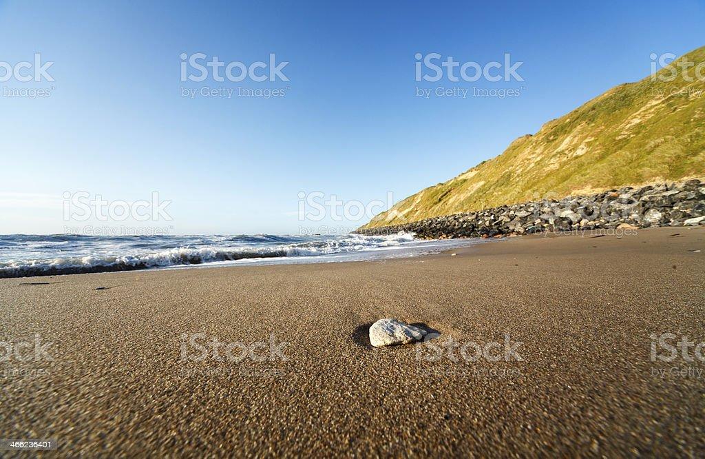 Lønstrup beach royalty-free stock photo