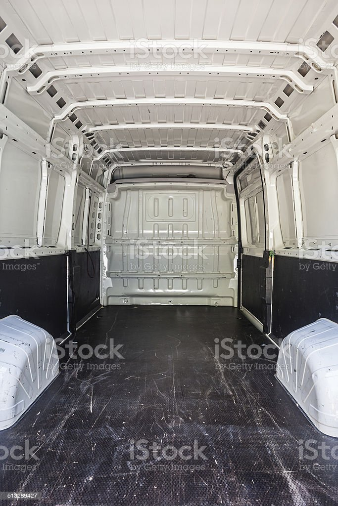 Load compartment stock photo