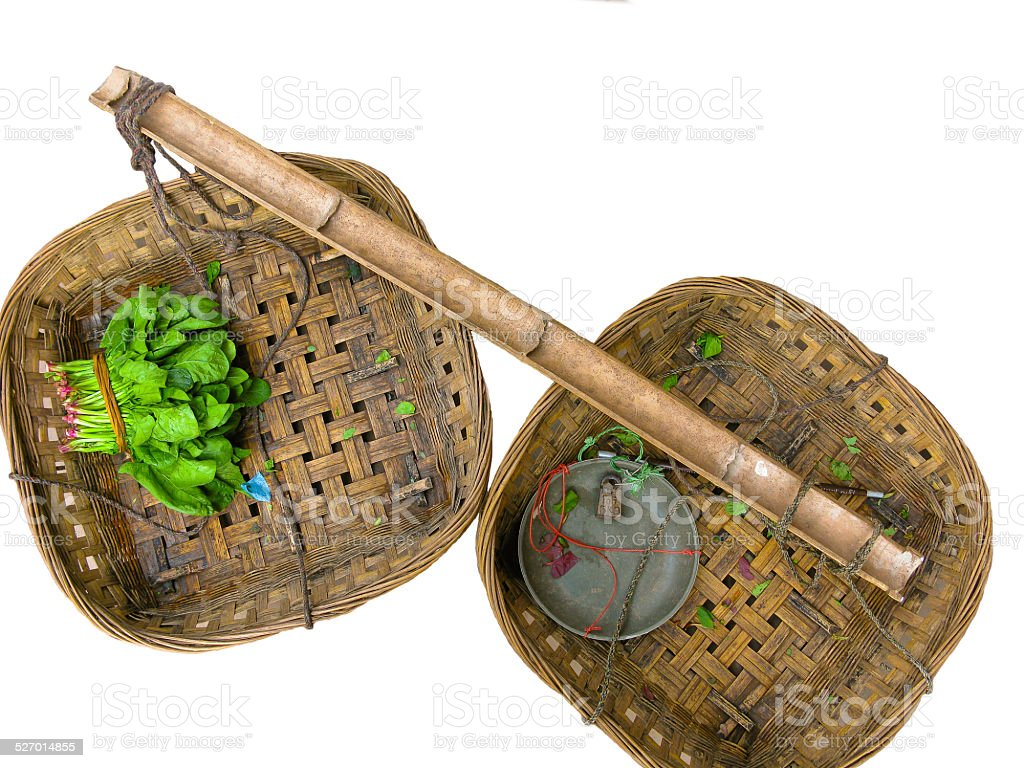 Load of Chinese Farmer stock photo