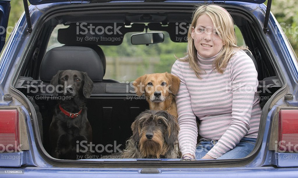 loaded up and ready to go royalty-free stock photo