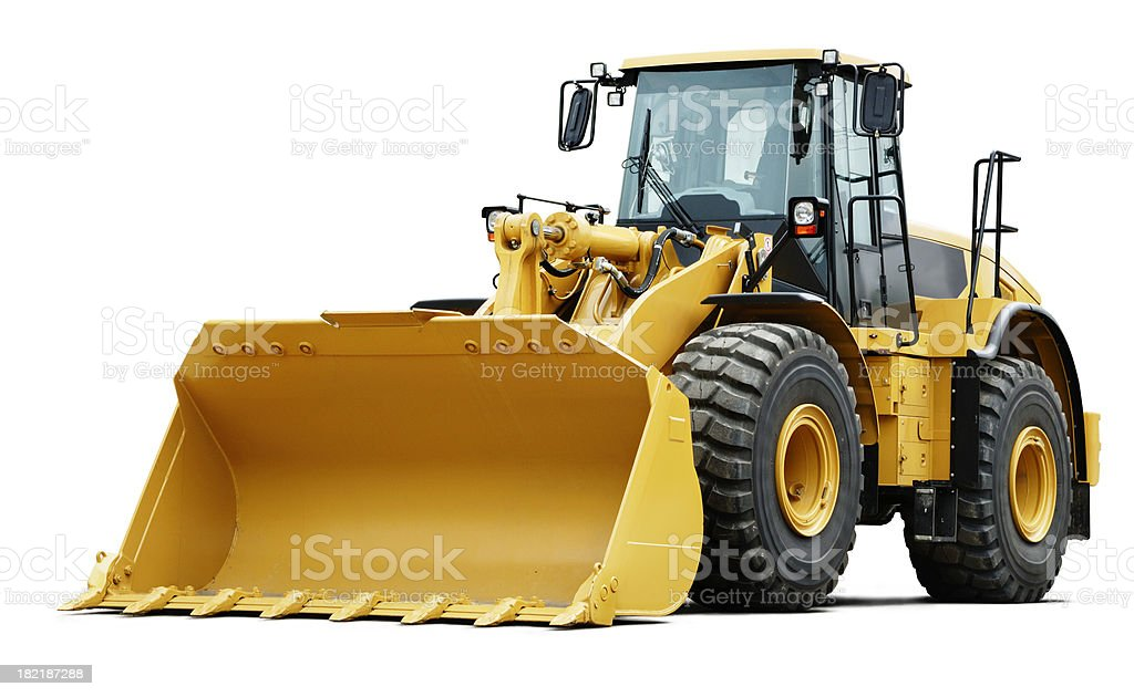 Loader stock photo