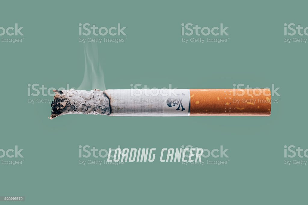 Loading cancer stock photo