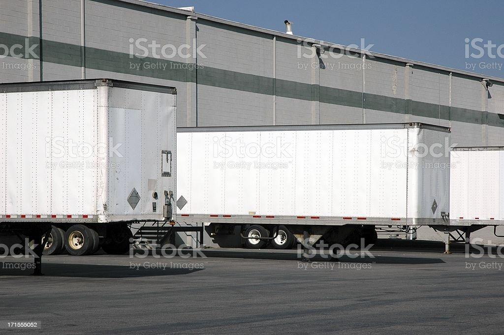 Loading Docks royalty-free stock photo