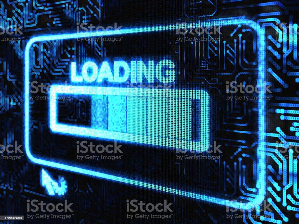 loading stock photo