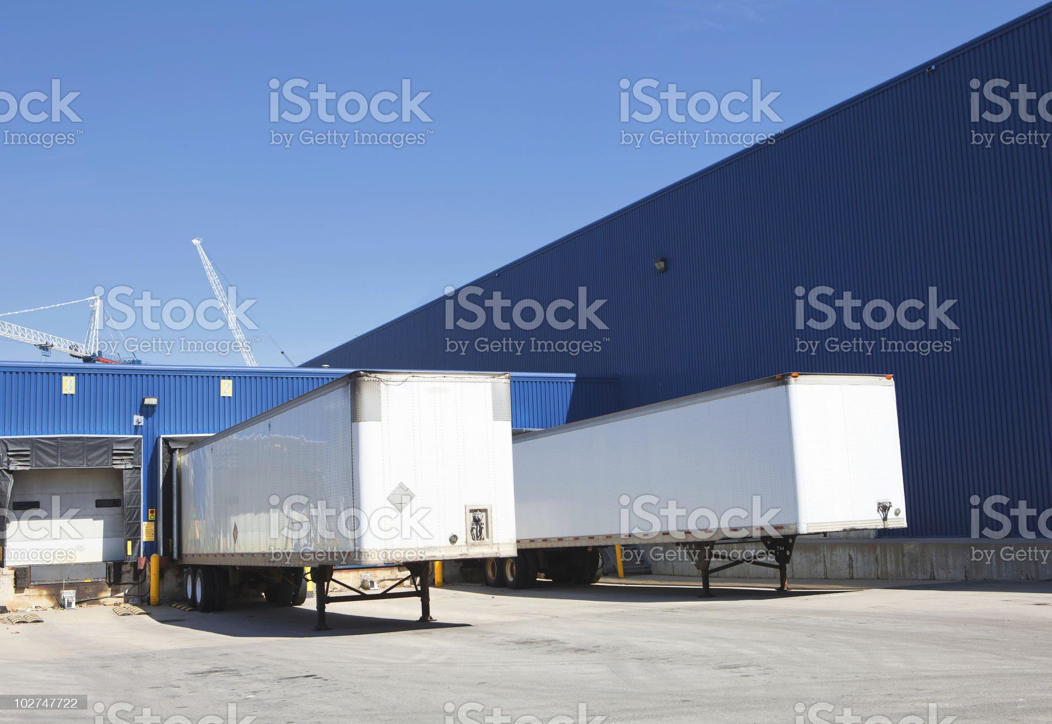 loading zone royalty-free stock photo