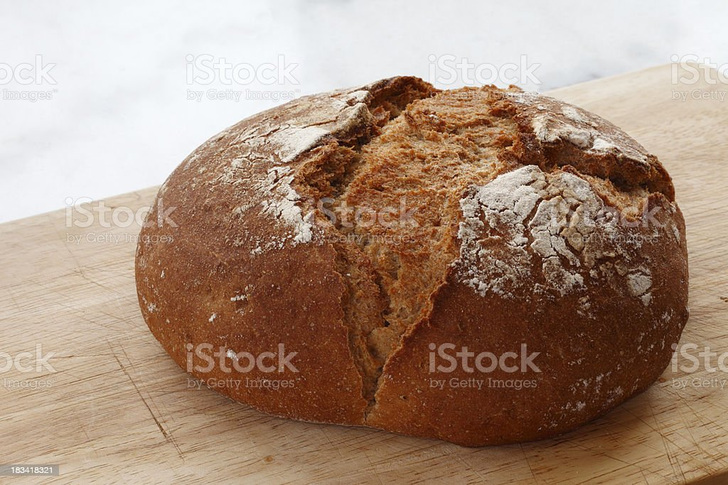 Loaf of Country Bread royalty-free stock photo
