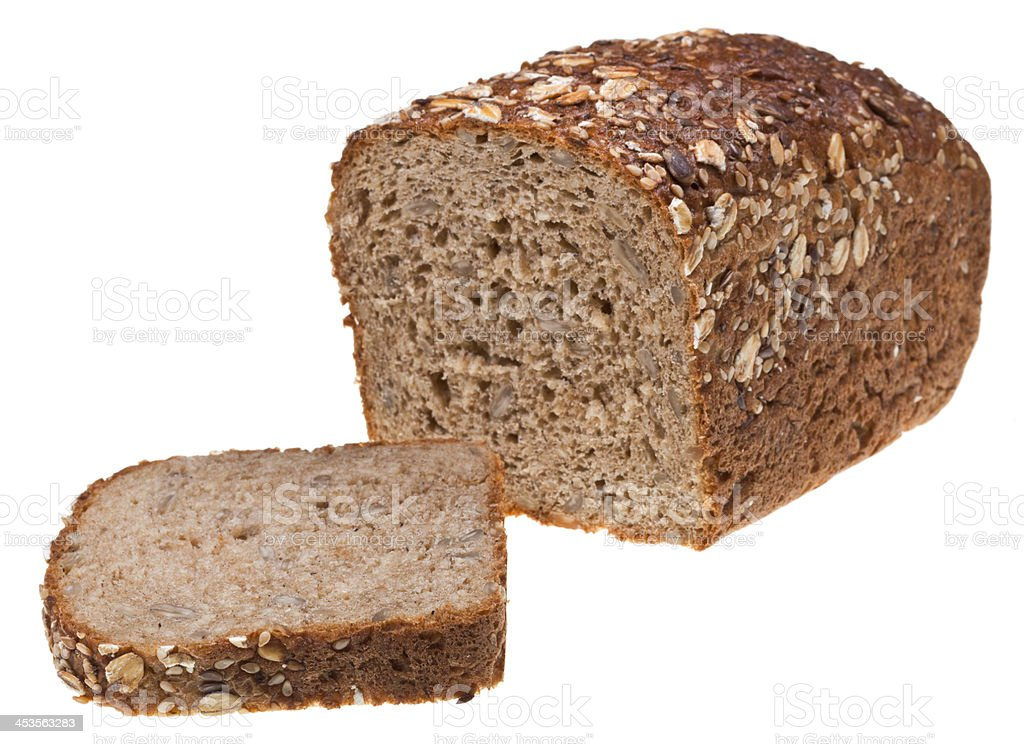 loaf of grain bread royalty-free stock photo