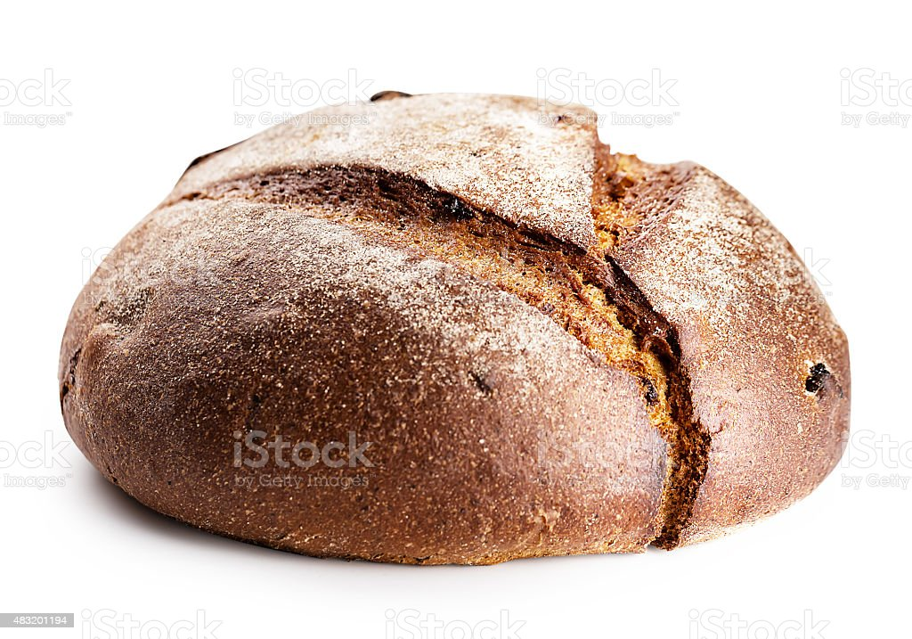 Loaf of rye bread stock photo