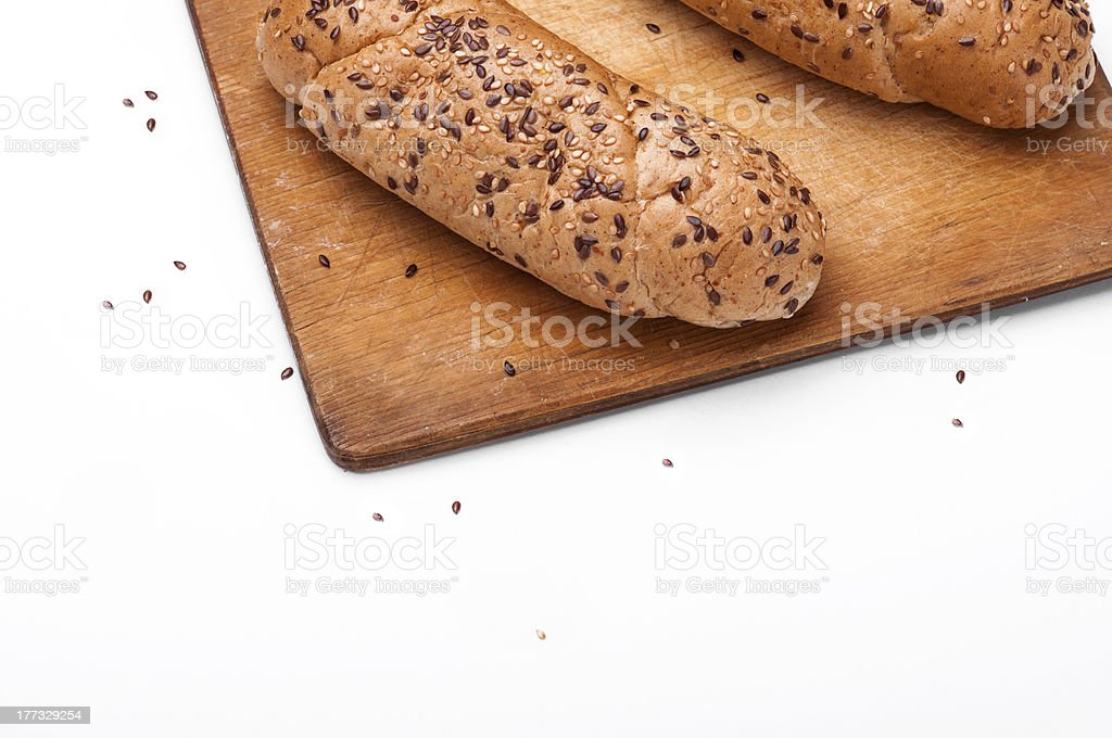 Loaf of sandwich stock photo