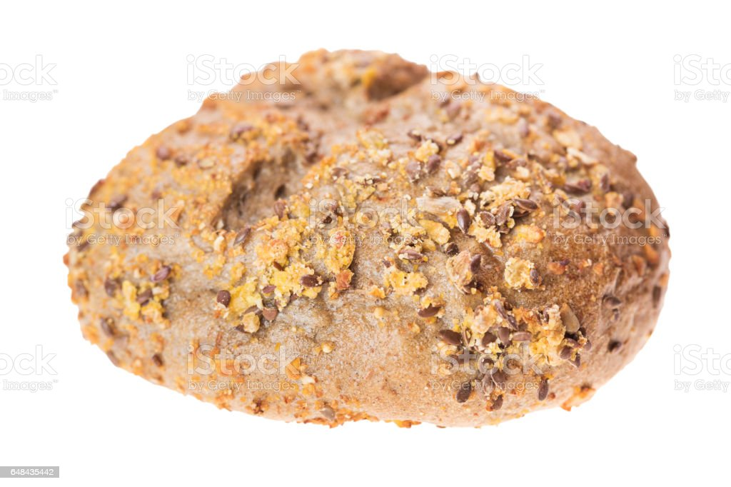 Loaf of Wholemeal Bread stock photo