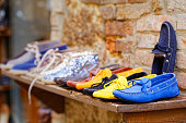 Loafers exposure craft in Pienza