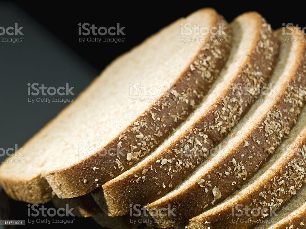 Loafs of multigrain bread stock photo