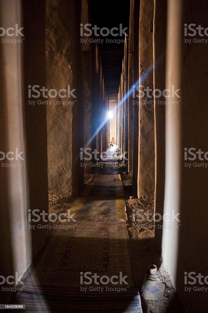 Loam mosque interior royalty-free stock photo
