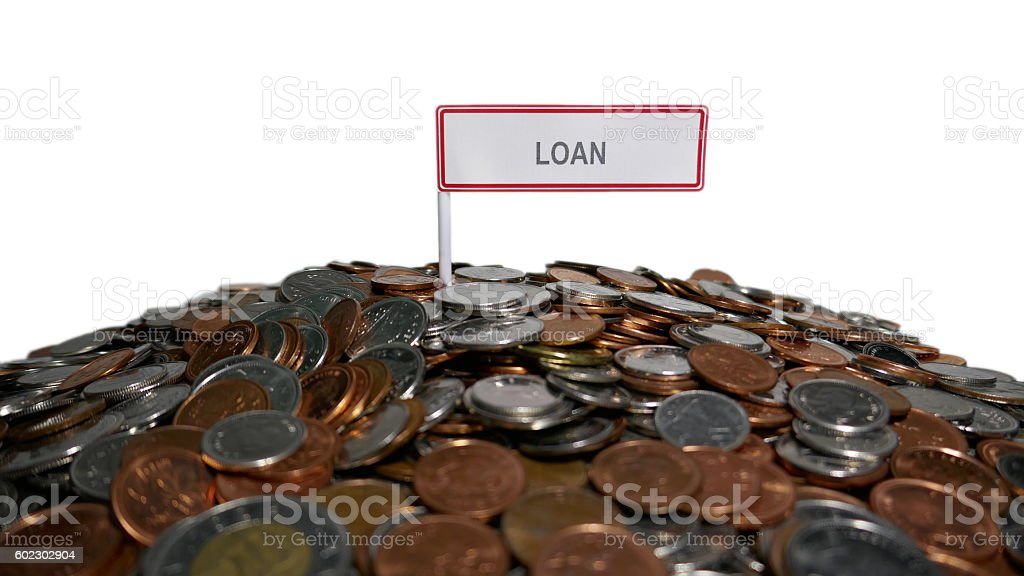 Loan Abstract stock photo